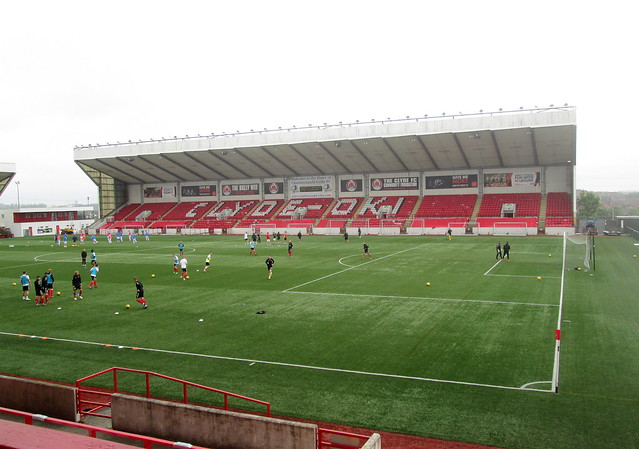 West Stand, Broadwood Stadium, Cumbernauld