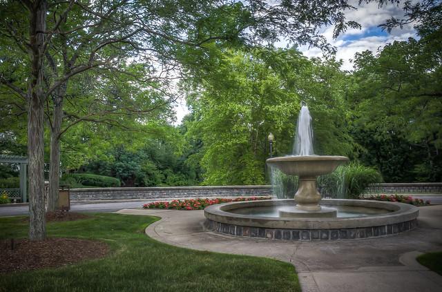 Refreshing Water Fountain