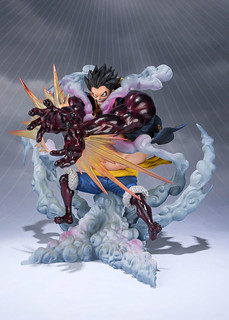 One Piece Figuarts ZERO Monkey D. Luffy (Gear 4 Lion Bazooka)