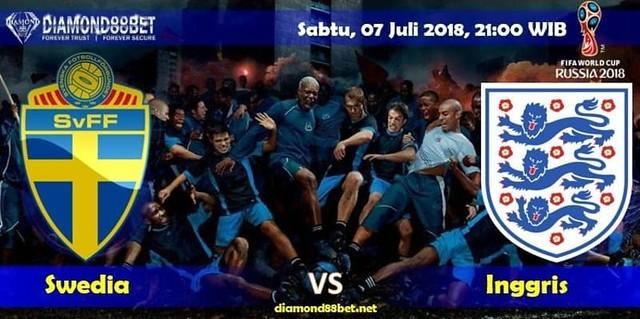 Prediksi Bola Swedia vs Inggris ,Hari Sabtu, 07 Juli 2018 – Piala Dunia