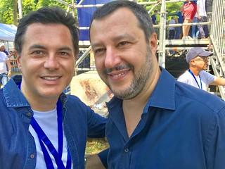 Nuccio Altieri e Matteo Salvini