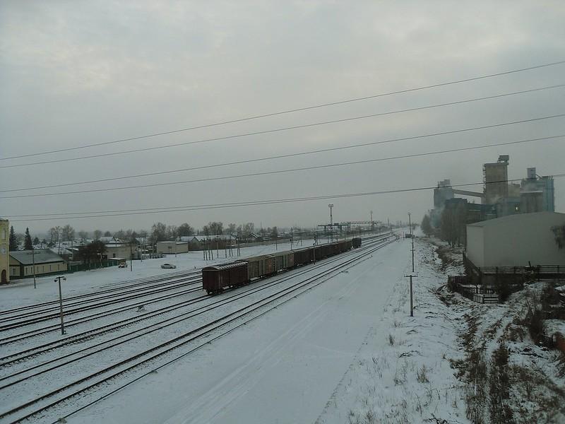 Алейск, железнодорожный вокзал.