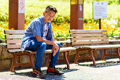Boy at The Park : ?????