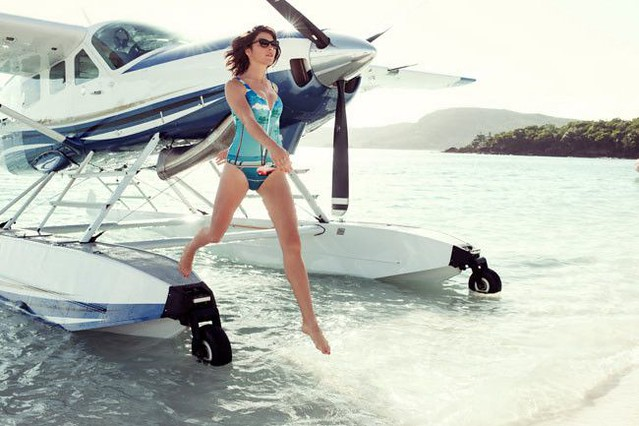 Swimwear - One-pieces : We Are Handsome talk Hamilton Island, Slim Aarons and dressing Cara and Kendall