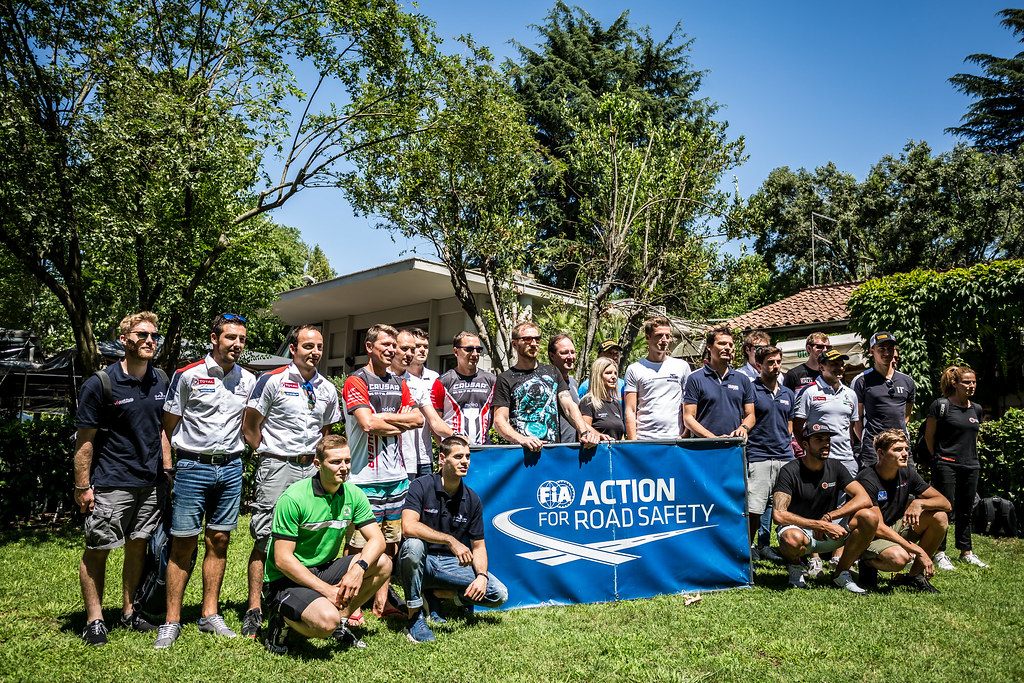 ERC family picture during the 2018 European Rally Championship ERC Rally di Roma Capitale,  from july 20 to 22 , at Fiuggi, Italia - Photo Thomas Fenetre / DPPI