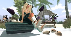 Happy Birthday SL and Scandalize Nicandra Laval: Original with a straw hat