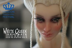 White Queen- Inamorata OOAK