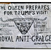 THE QUEEN PREPARES FOR TRUMPS VISIT by StockCarPete