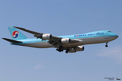 Boeing 747 -8B5(F) KOREAN AIR CARGO HL7639 37653 Francfort mai 2018