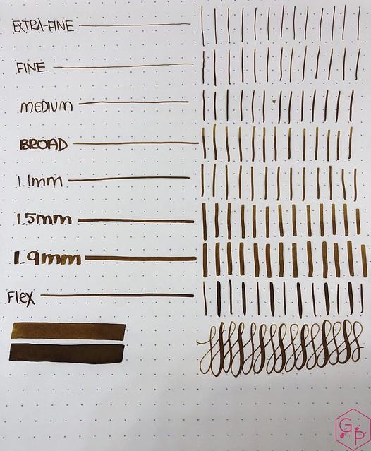 Blackstone Brown Boronia Ink Review @AppelboomLaren 7
