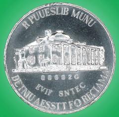 Martha test coin reverse