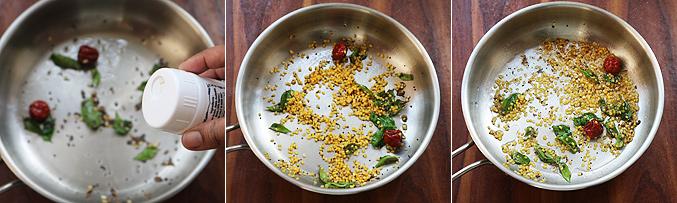 How to make quinoa sundal recipe - Step2