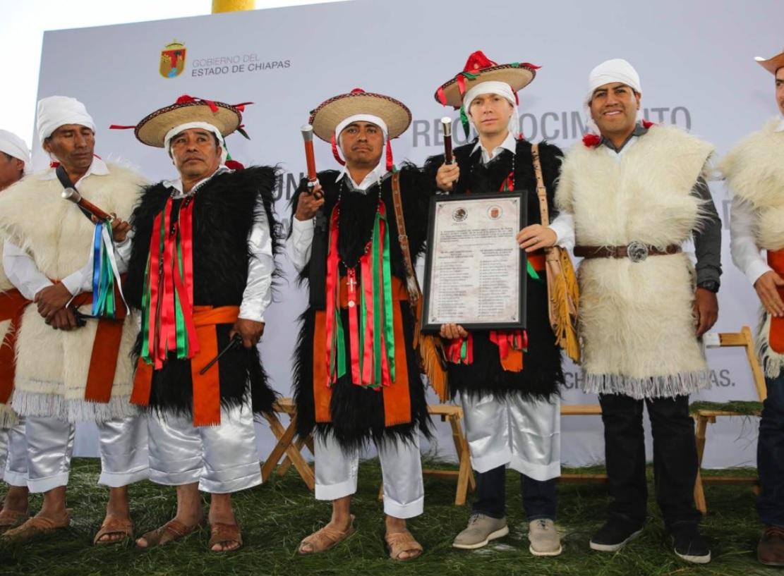 Rincón Chamula es oficialmente un nuevo municipio de Chiapas, dijo el gobernador, Manuel Velasco.
