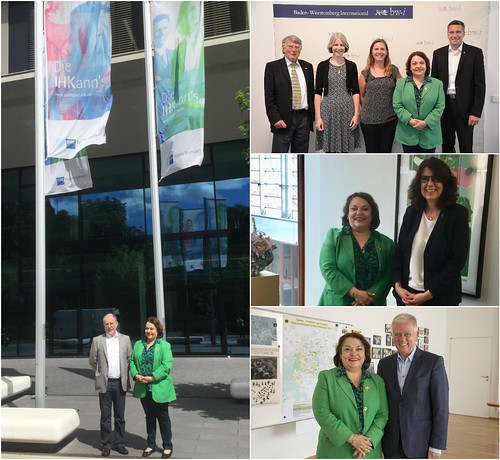La Cónsul Villanueva visita a socios estratégicos en Stuttgart
