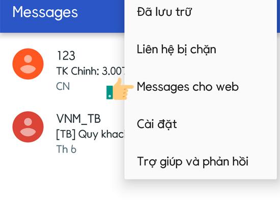 Cách gửi tin nhắn SMS từ máy tính