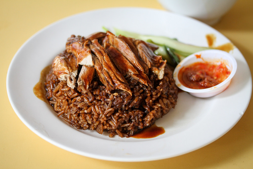 Chuan Kee Boneless Braised Duck Duck Rice