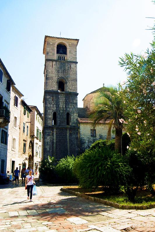 Церковь  Св. Марии Речной , вид от ворот