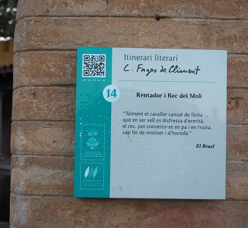 Rentador i Rec del Molí  / Carles Fages de Climent per Teresa Grau Ros a Flickr