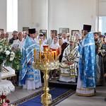 Богослужение в Казанском храме города Крымска