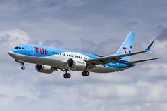 LIL - Boeing 737-8MAX (OO-TMY) TUI Airlines Belgium