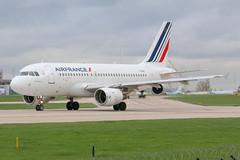 Air France Airbus A319-100 F-GRHT