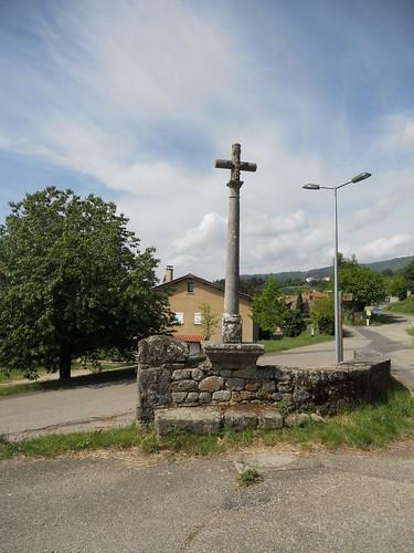 2018-05-12 - Rando à Maclas - Le Plateau de Bessey et le Batalon (01), Croix