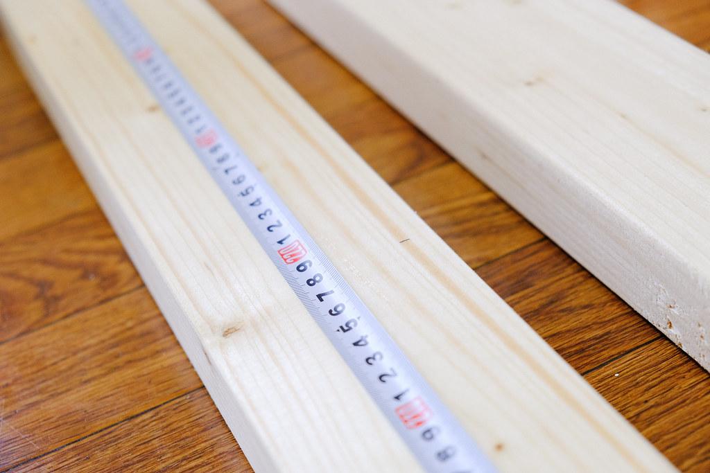 2×4材を測る