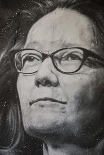 Gina Haspel, painted portrait _DDC0006