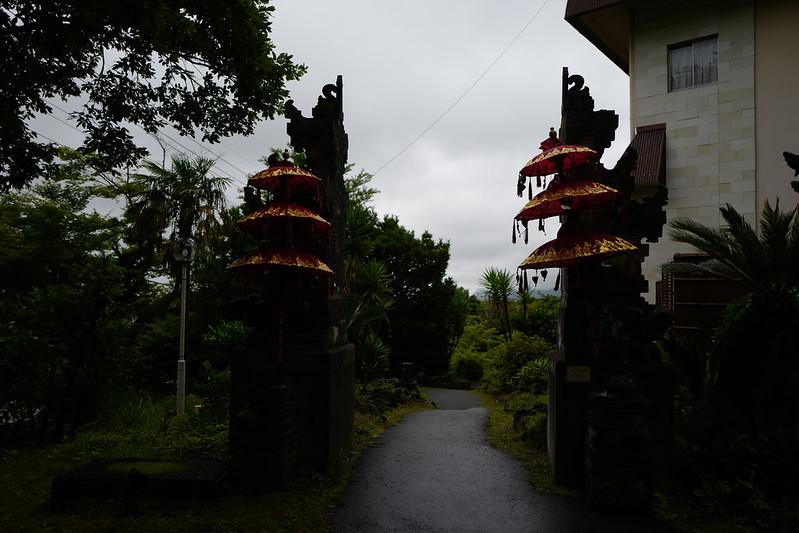 HOTEL SPA ANDA RESORT伊豆高原ロンボック館入口