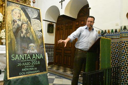 Presentación del cartel de Santa Ana de Francisco Gómez Santiago