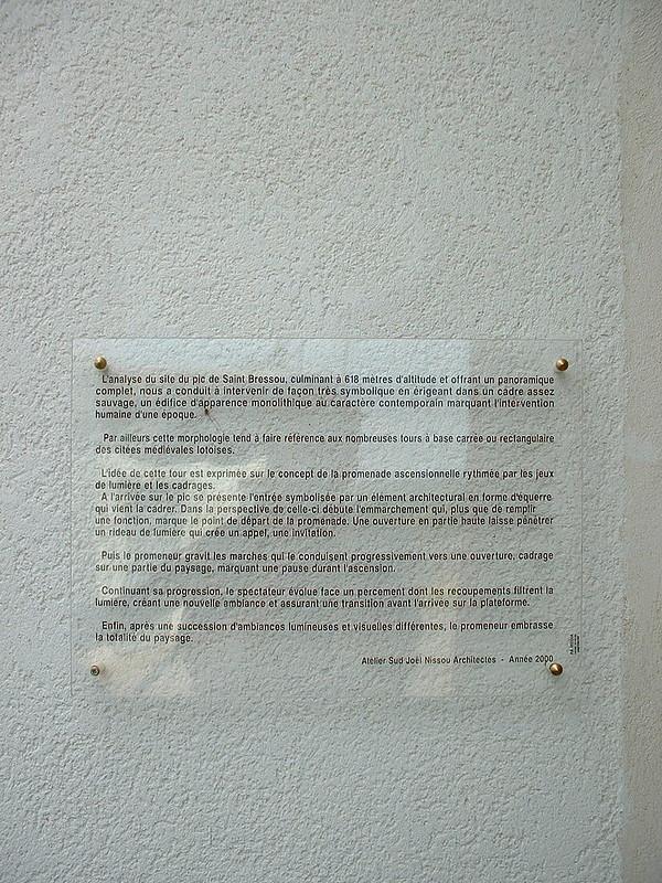 Saint-Bressou - Tour d'observation du Pic de Saint-Bressou
