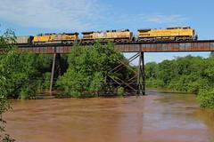An Angry Nemadji River