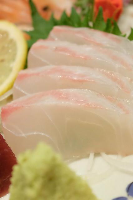 真鯛 本日の鮮魚 五点盛り合わせ