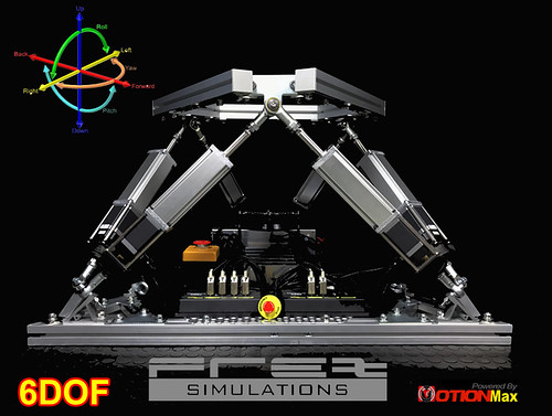 FREX HexaMotion Simulator System