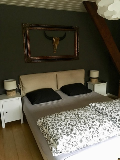 Slaapkamer lijst gewei