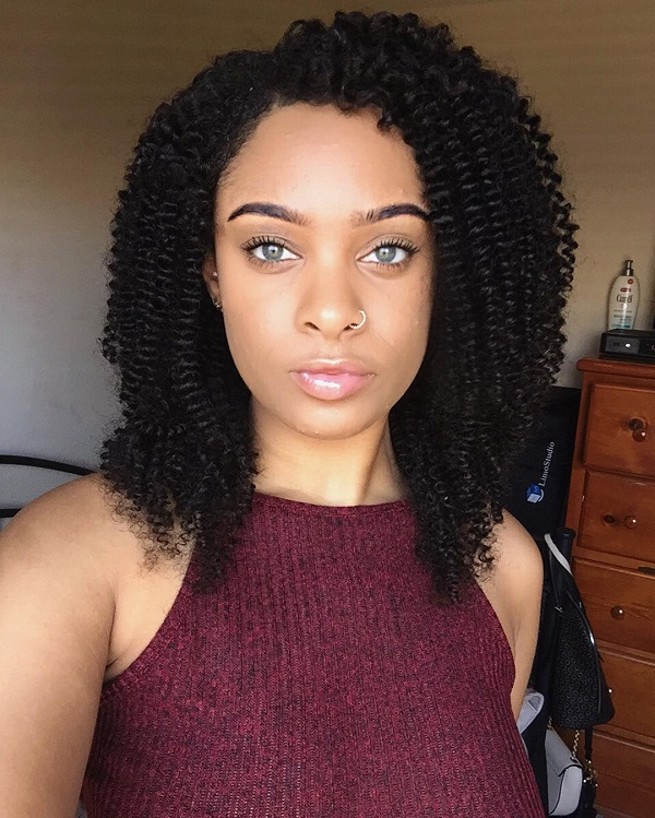 Best Natural Curly Hair -Ways To Attract Attention | 2018 2