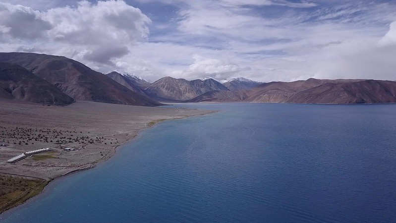 Pangong Tso, facing Indian