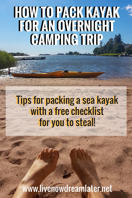 How to pack kayak for an overnight camping trip? Tips and tricks for packing a kayak with a free checklist