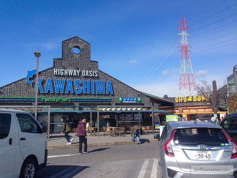 Babymoon ke Jepang - Kawashima Rest Area