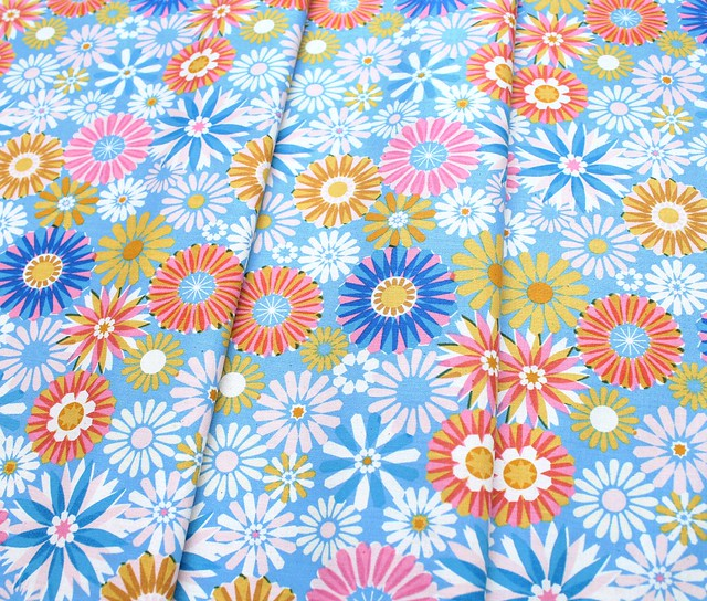 COTTON+STEEL Freshly Picked 0061-02 Garden Blue