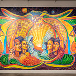 In Sight On Site: Murals - Los Supersonicos - Photograph by Wes Magyar