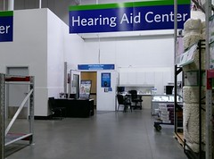 Hearing Aid center, prior to remodel