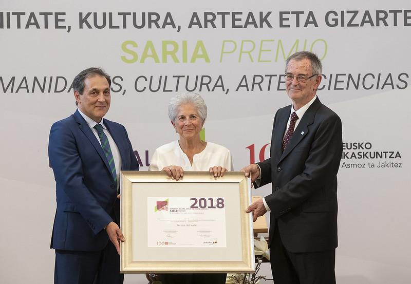 Eusko Ikaskuntza-Laboral Kutxa Saria 2018