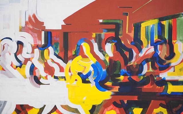 """Last Supper"" by Han Kyu Wha, Kara's Gallery, South Korea, Room 4211"