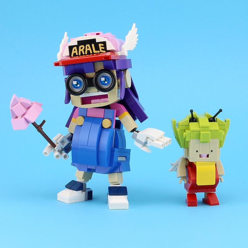 gatchan&arale lego