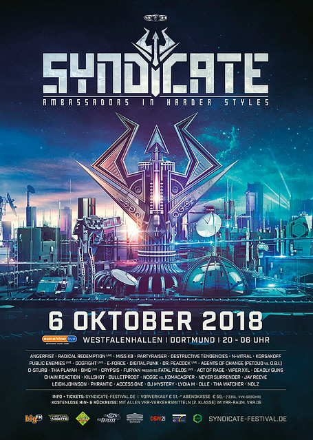 cyberfactory syndicate westfalenhallen dortmund germany