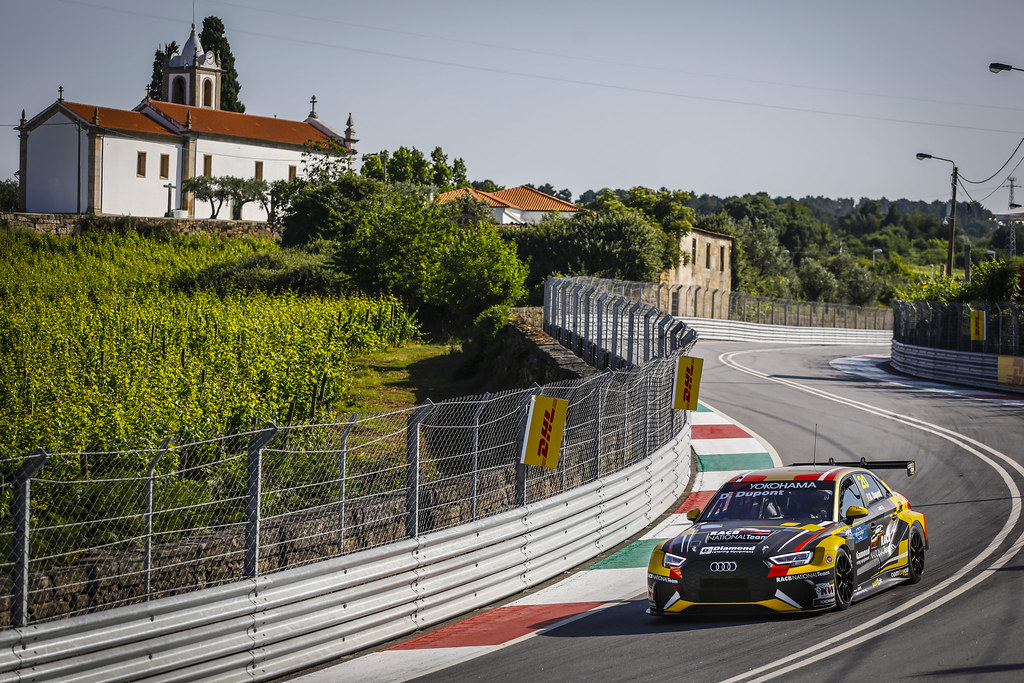 20 DUPONT Denis, (bel), Audi RS3 LMS TCR team Comtoyou Racing, action during the 2018 FIA WTCR World Touring Car cup of Portugal, Vila Real from june 22 to 24 - Photo Francois Flamand / DPPI