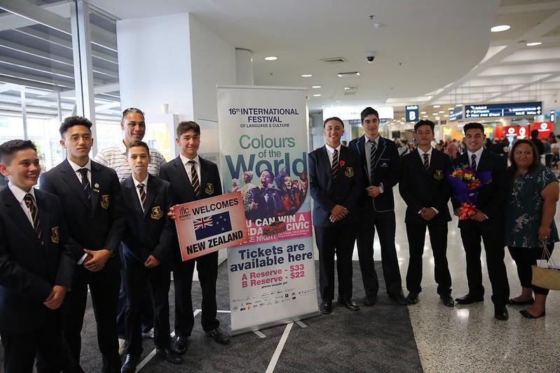 Auckland Grammar Boys at IFLC Australia 2018