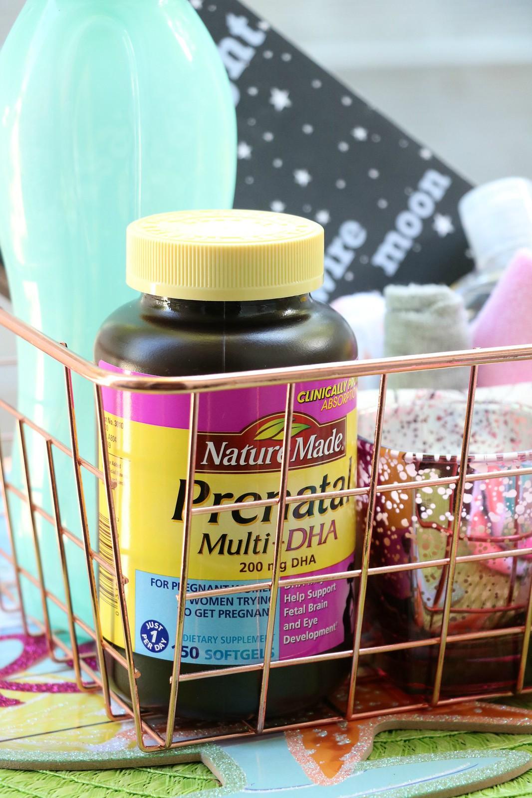 The Ideal Breastfeeding Survival Basket for New Mothers #NatureMadePrenatalDHA