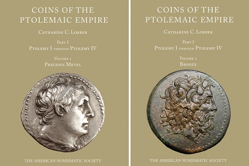 Coins of the Ptolemaic Empire book covers